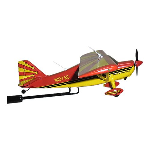 8KCAB Super Decathlon Bellanca Custom Airplane Model Briefing Stick - View 4