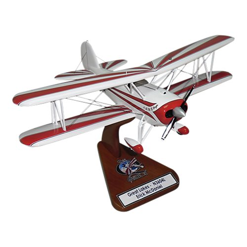 Great Lakes 2T-1A-2 Custom Airplane Model  - View 2