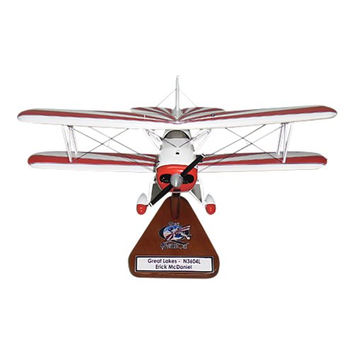 Great Lakes 2T-1A-2 Custom Airplane Model  - View 3