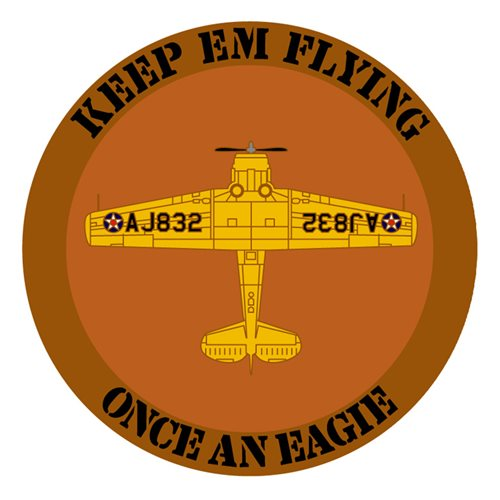 Eagle Flying Museum Coin Custom Air Force Challenge Coin - View 2