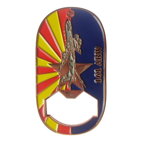 161 MXG Bottle Opener Challenge Coin - View 2