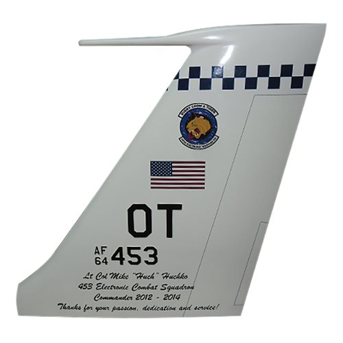 453 EWS RC-135 Custom Airplane Tail Flash