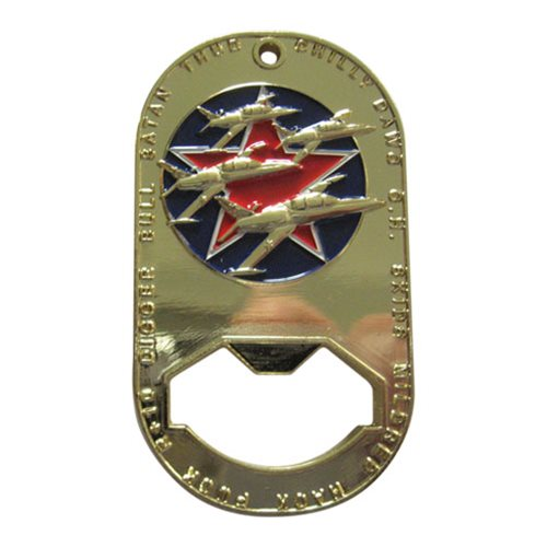 Hopper Bottle Opener Coin Custom Air Force Challenge Coin - View 2