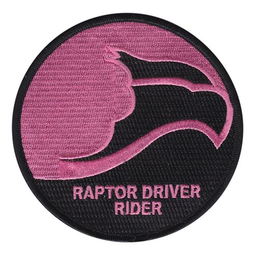 F-22 Raptor Driver Rider Patch