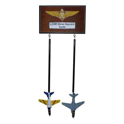 Custom Wall Rack with 2 briefing sticks  - View 4