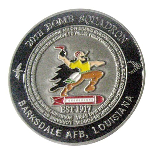 20 BS Challenge Coin