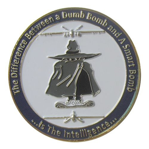 163 OSS Coin Challenge Coin - View 2