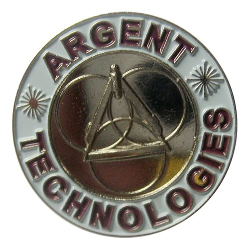 Argent Technologies Coin, Custom Air Force Challenge Coin