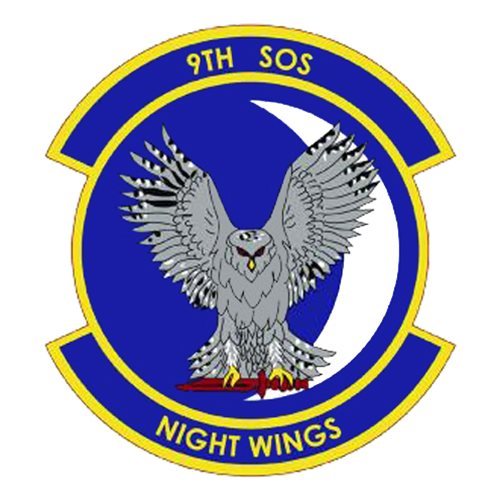 9 SOS C-130 Airplane Tail Flash
