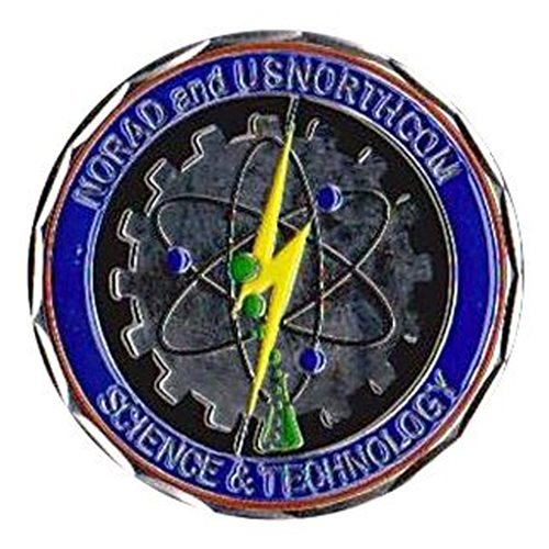 Norad Northcom Coin Custom Air Force Challenge Coin