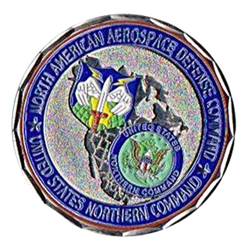 Norad Northcom Coin Custom Air Force Challenge Coin - View 2