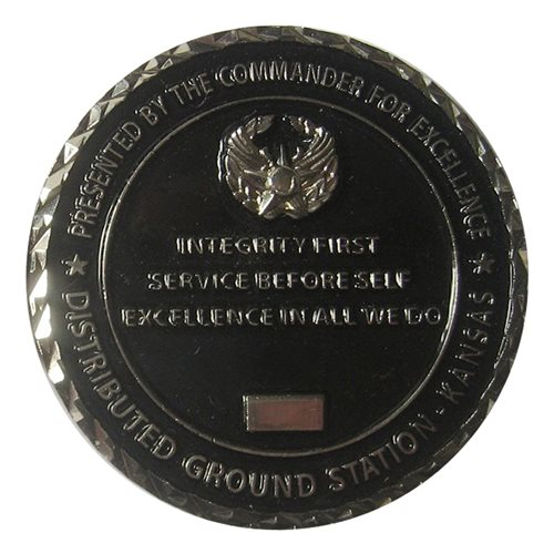 161 IS Commander Challenge Coin - View 2
