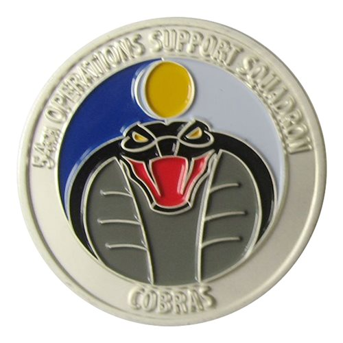 54 OSS Coin Custom Air Force Challenge Coin