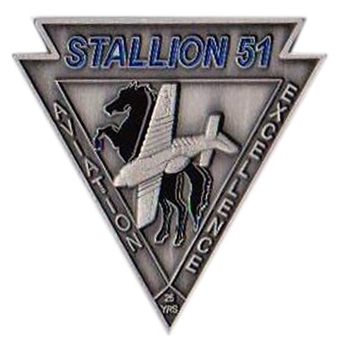 Stallion 51 Coin - View 2