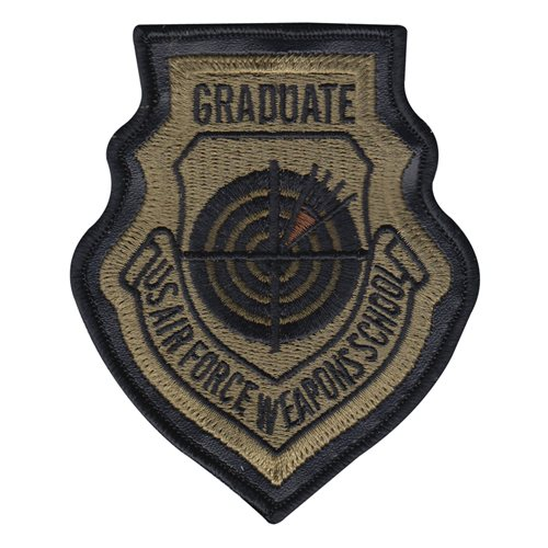 USAF Weapons School Instructor MultiCam OCP Patch