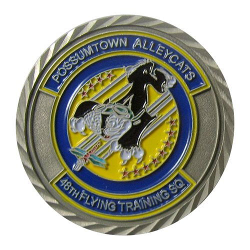 48 FTS Custom Air Force Challenge Coin