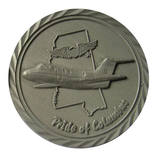 48 FTS Custom Air Force Challenge Coin - View 2