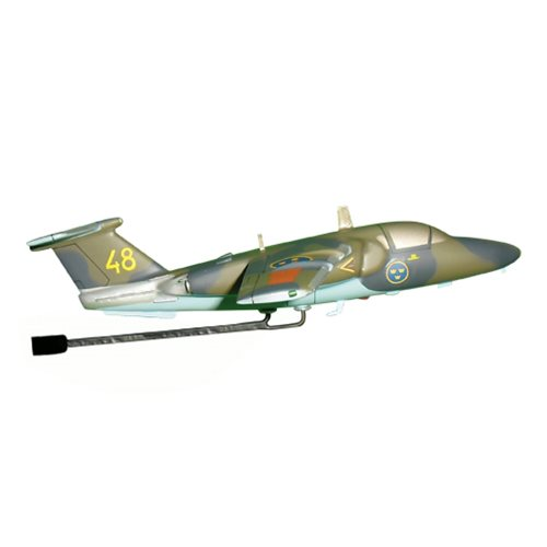 Swedish Air Force Saab 105 Airplane Model Briefing Stick - View 3