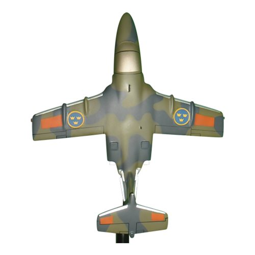 Swedish Air Force Saab 105 Airplane Model Briefing Stick - View 4