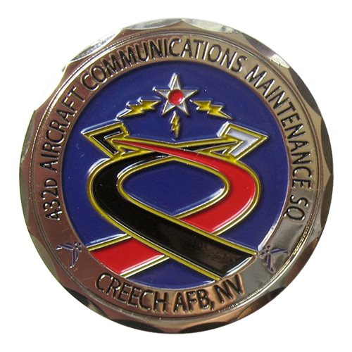 432 ACMS Custom Air Force Challenge Coin