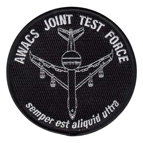 AWACS Joint Test Force Patch