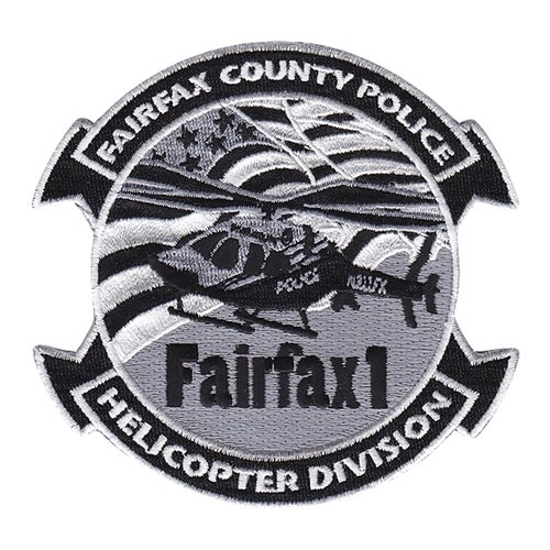 Fairfax County Police Subdued Patch