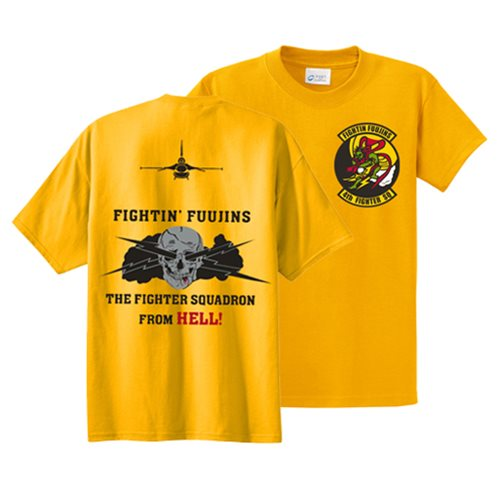 4th Fighter Squadron Shirts  - View 2