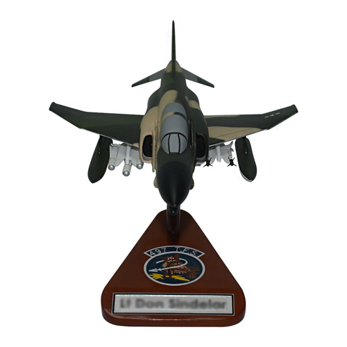 497 TFS F-4 Custom Airplane Model  - View 3