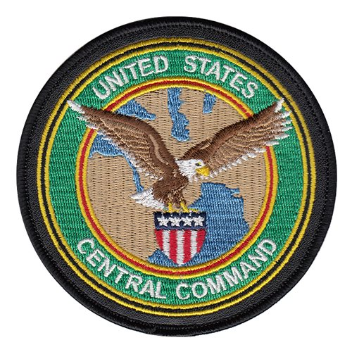 USCENTCOM Patch with Leather