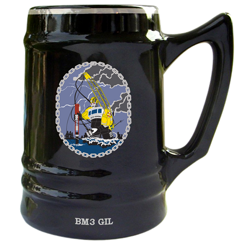 USCGC Kennebec Ceramic Mugs