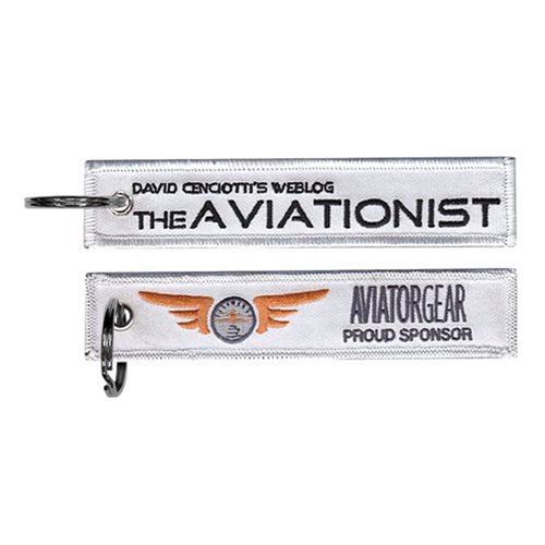 The Aviationist Blog White Key Flag