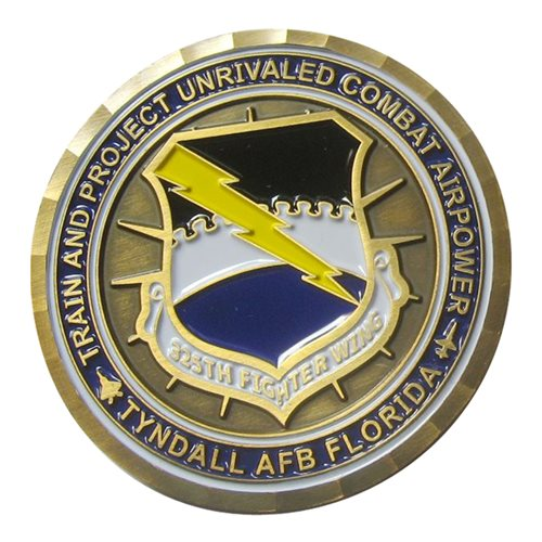 325 FW Commander 2015 Coin