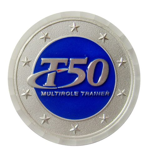 LMCO T-50 Challenge Coin - View 2