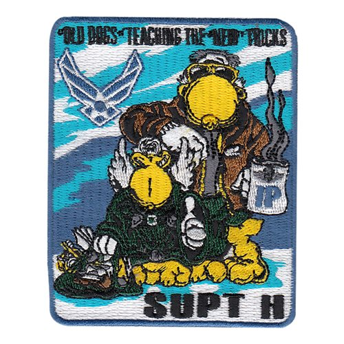 23 FTS SUPT-H Fort Rucker Instructor Patch