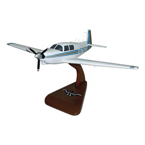 Mooney M20C Custom Airplane Model