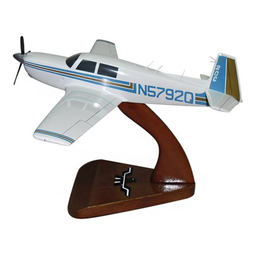 Mooney M20C Custom Airplane Model  - View 2