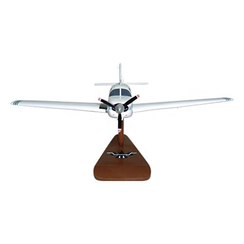 Mooney M20C Custom Airplane Model  - View 3