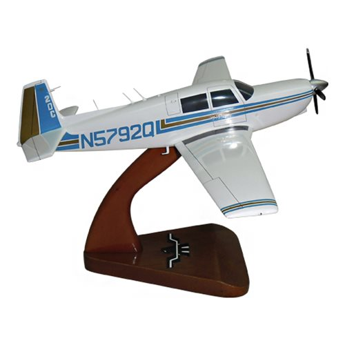 Mooney M20C Custom Airplane Model  - View 4