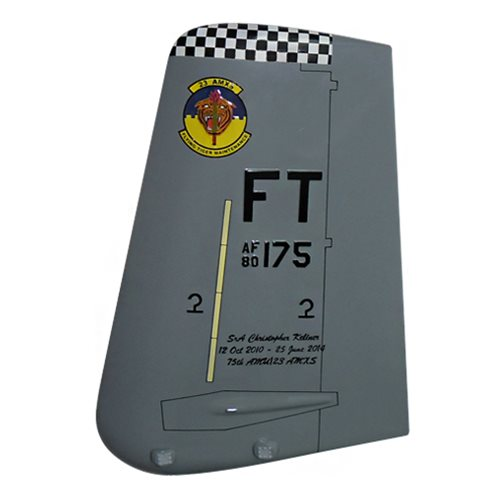 23 AMXS A 10 Airplane Tail Flash