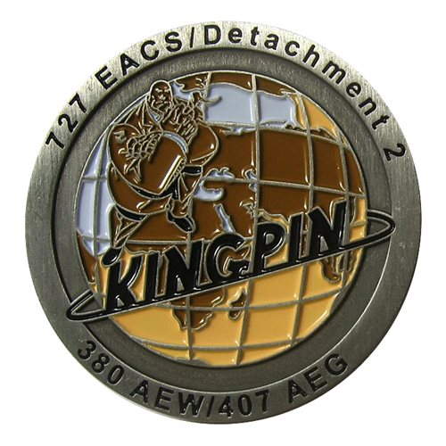 141 ACS Challenge Coin - View 2