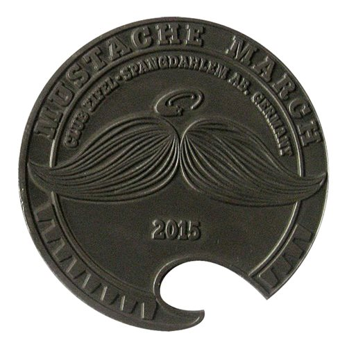 Club Eifel Mustache 2015 Bottle Opener Coin - View 2