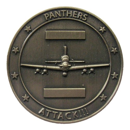 81 FS A-29 Challenge Coin