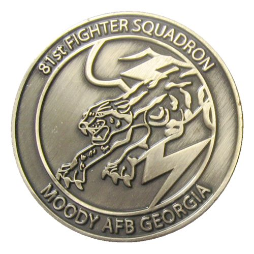 81 FS A-29 Challenge Coin  - View 2