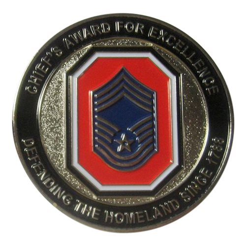 178 ISRW First Sergeant Group Challenge Coin - View 2