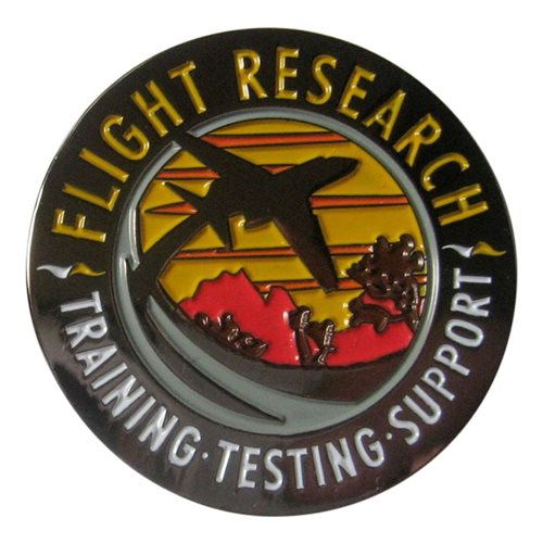 Flight Research Inc Coin - View 2