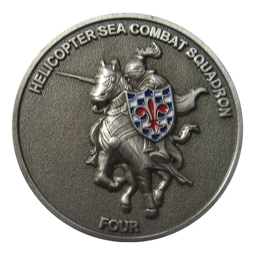 HSC-4 Black Knight Coin - View 2