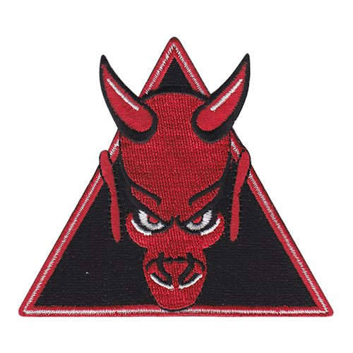 96 BS Red Triangle Patch