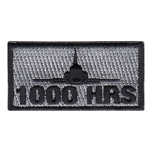 50 FTS T-38 1000 Hours Pencil Patch