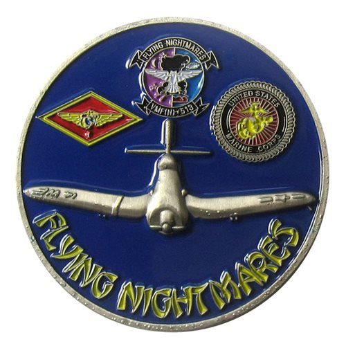 P-51 Flying Nightmares Coin