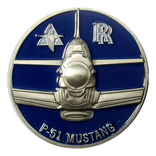 P-51 Worry Bird Coin